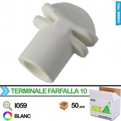 Terminaison perchoir 10mm - Carton de 50 pièces - S.T.A Soluzioni