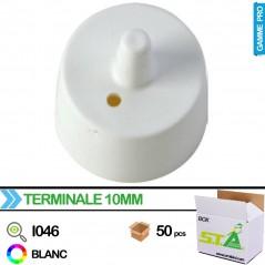 Embout pointe perchoir 10mm - Carton de 100 pièces - S.T.A Soluzioni