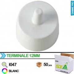 Embout pointe perchoir 12mm - Carton de 100 pièces - S.T.A Soluzioni