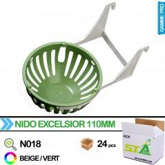Nid Excelsior avec support dia. 110mm - Carton de 24 pièces - S.T.A Soluzioni
