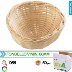 Nid en osier 80mm - Carton de 50 pièces - S.T.A Soluzioni I055/BOX S.T.A. Soluzioni 62,50 € Ornibird