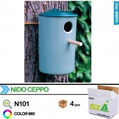 Nichoir exterieur en plastique - Carton de 4 pièces - S.T.A Soluzioni N101/BOX S.T.A. Soluzioni 24,00 € Ornibird
