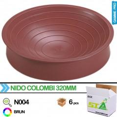Nid pigeon en plastique - Carton de 6 pièces - S.T.A Soluzioni N004/BOX S.T.A. Soluzioni 30,00 € Ornibird