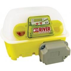 Couveuse digitale automatique ET 12 avec unité retournement OVOMATIC et additif antibactérien BIOMASTER, pour 12 oeufs 512/A/...