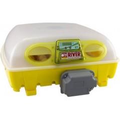 Couveuse digitale automatique ET 49 avec unité retournement OVOMATIC et additif antibactérien BIOMASTER, pour 49 oeufs