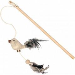 Jouet Canne à Pêche Nature pour Chat 1717046 Duvo 4,45 € Ornibird