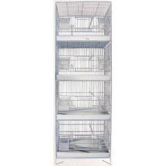 Cage Domus Molinari 4 étages 39x23x114cm 1560053 Domus Molinari 115,04€ Ornibird