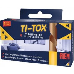Attrape-Mouches Fly Catcher Ti-Tox - Riem 60 Riem 2,49 € Ornibird