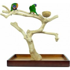 Aire de Jeux en bois de Java avec socle - Medium ZF1113 Private Label - Ornibird 96,74 € Ornibird