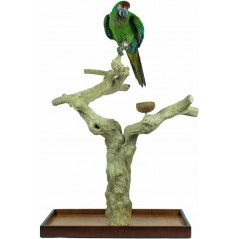 Aire de Jeux en bois de Java avec socle - X-Large ZF1115 Private Label - Ornibird 150,52 € Ornibird