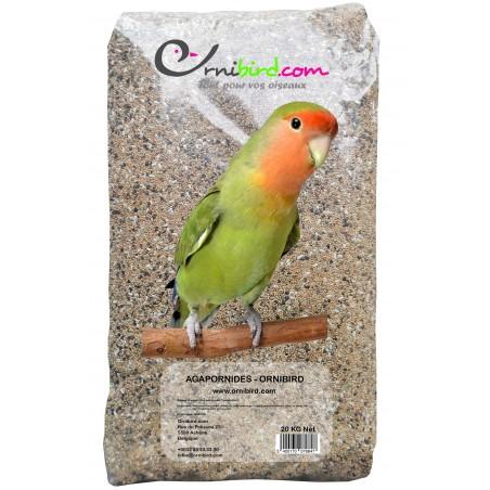 Agapornides - Ornibird, mélange pour inséparables 20kg 700129 Private Label - Ornibird 17,95 € Ornibird