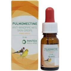 Pulmomectine, gouttes pour la peau contre les mites du système respiratoire, acariens 10ml - Pantex Coutteel 30.001 Dr. Coutt...