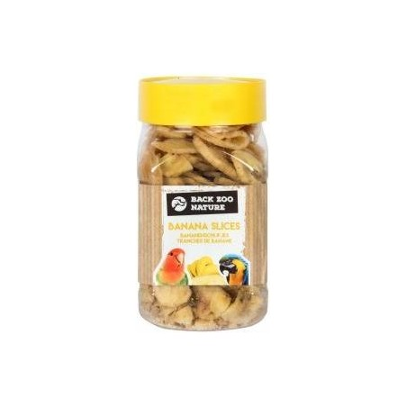 Bananes sechées 350ml - Back Zoo Nature ZF18-211 Private Label - Ornibird 2,63 € Ornibird