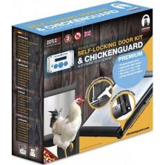 Ouvre-trappe automatique Premium et Porte Autobloquante - Chickenguard RCOMBIPR ChickenGuard 180,95 € Ornibird