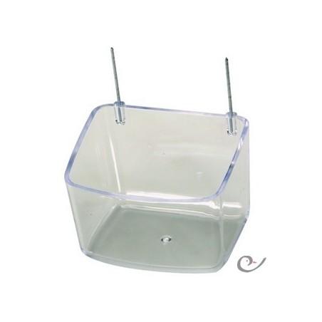 Alimentatore con ganci 9x7x6,5 cm