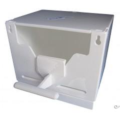 Nid en plastique blanc 13x10x9,5cm