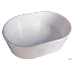 Alimentador de Plástico Blanco Oval 11x8x4cm 14113 2G-R 0,83 € Ornibird