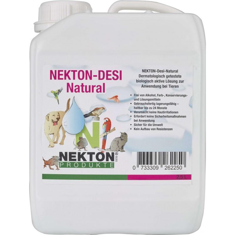 Nekton-Desi-Natural 2,5 l - Désinfectant naturel - Nekton 2622500 Nekton 35,87€ Ornibird