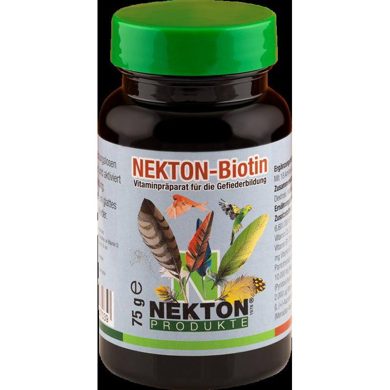 Nekton-Biotin 75gr - Préparation à base de vitamines pour la pousse des plumes - Nekton 207075 Nekton 13,18€ Ornibird
