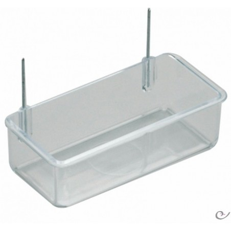Feeder with hooks 10x4,5x3cm