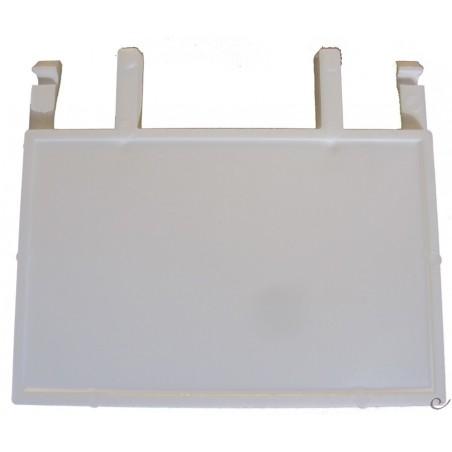 Clapet en plastique pour façade 7x5,5cm