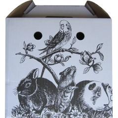 Boite de transport pour oiseaux ou rongeur 1596 Vadigran 1,63 € Ornibird