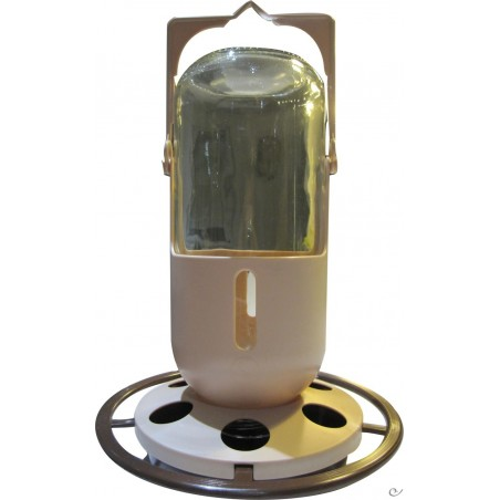 Fountain lantern glass