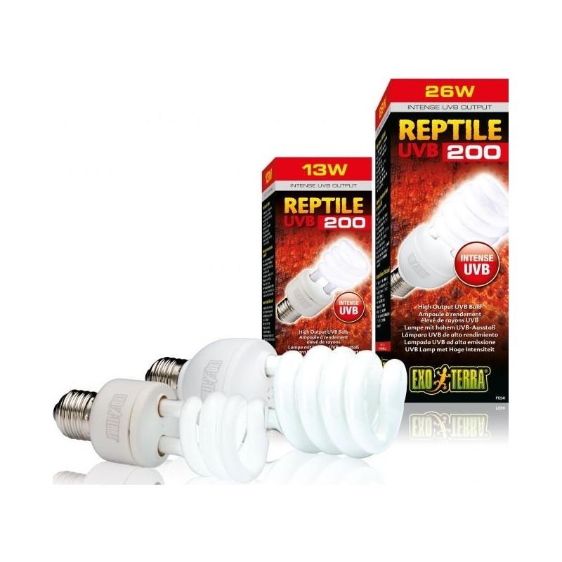 Exo Reptile UVB200 lampe 13w - Exo Terra 33/PT2340 Exo Terra 37,50€ Ornibird