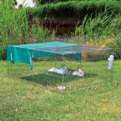 Protection solaire pour enclos extérieur 116x72cm - Trixie 6259 Trixie 5,99€ Ornibird