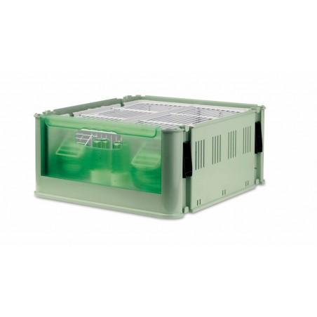 Box de transport sans couvercle 38 x 39 x 18 cm h
