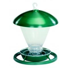 Mangeoire 1kg ou fontaine 1l en plastique pour l'extérieur