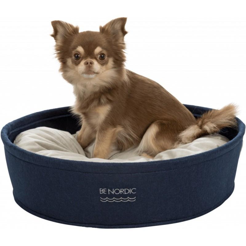 BE NORDIC lit rond en feutre Bleu 45cm - Trixie 38420 Trixie 24,99€ Ornibird