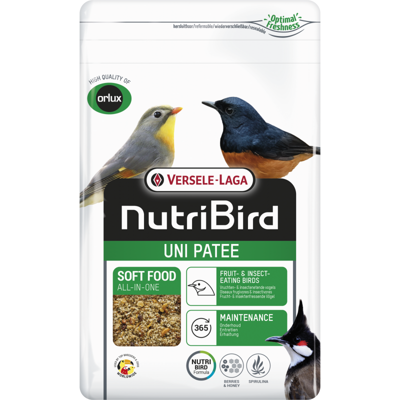 Uni Patée Soft Food All-In-One 1kg - Nutribird 422146 Nutribird 7,33€ Ornibird