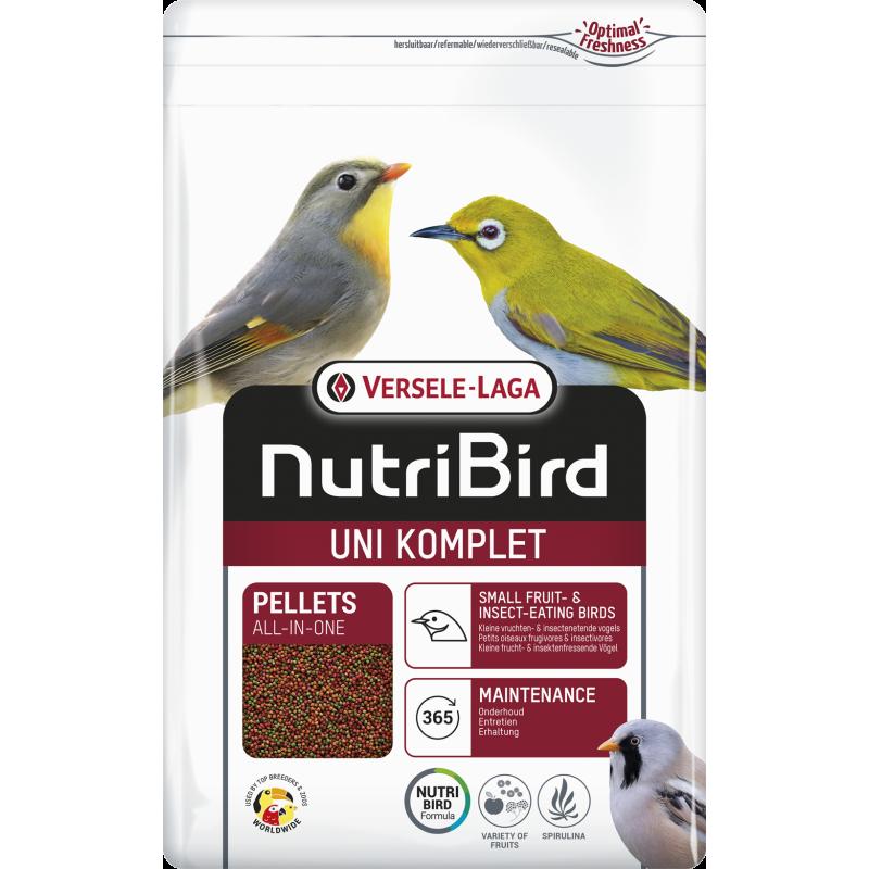 Uni Komplet Pellets All-In-One 3kg - Nutribird 422145 Nutribird 23,14€ Ornibird