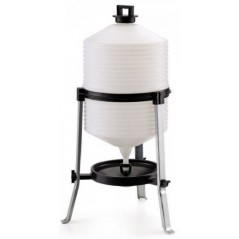Watering hole on foot for poultry-18L 2466 Benelux 33,47 € Ornibird