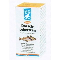 Lebertran dorsch (huile de foie de morue) 250ml - Backs