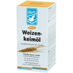 Wheat germ oil (Weizenkeimol) 250ml - Backs 28060 Backs 11,22 € Ornibird