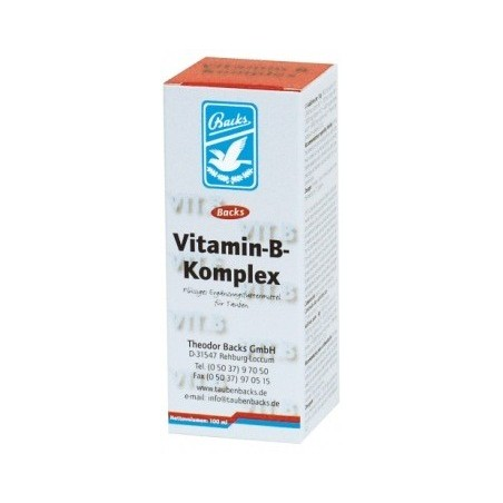 Vitamins B-Complex 100ml - Backs