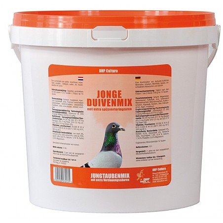 Mélange pour pigeonneaux 10l - DHP