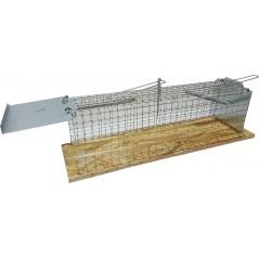 Piège - Trappe à rats 2 compartiments