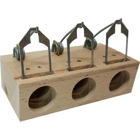 Piège - Trappe à souris 3 trous