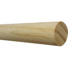 Baars hout voor grote parkieten 24mm x 90cm
