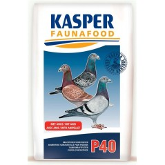 P40 (pellets pigeons) 20kg - Kasper Faunafood 003615 Kasper Faunafood 36,49 € Ornibird