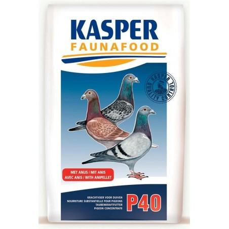 P40 (granulés pigeons) 20kg - Kasper Faunafood