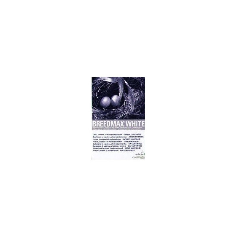 Breedmax White (without the carotenes, for white birds) 500gr - Oystershell 24004 Oystershell 15,24 € Ornibird
