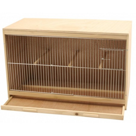 Cage breeding in wood-it-yourself - Kit - 62x38x30cm