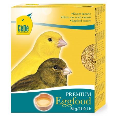 Pâtée sèche aux œufs pour canaris 5kg - Cédé