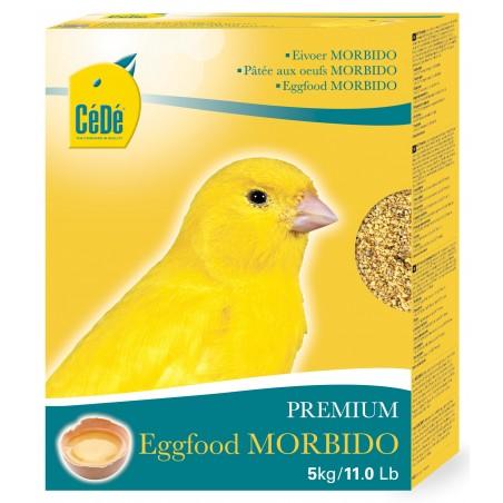Mash-een-half-fat met ei voor kanaries Morbido 5kg - Verkocht