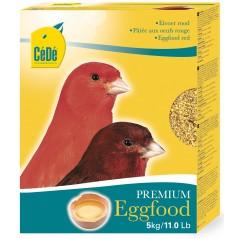 Pâtée aux œufs rouge pour canaris 5kg - Cédé