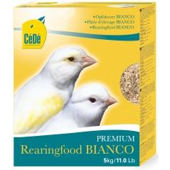 Pâtée aux œufs Bianco pour canaris 5kg - Cédé